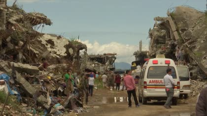 Rebuilding Marawi, a year after siege by militants loyal to Islamic State | Video