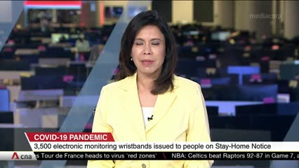 More than 3,500 electronic wristband devices issued to travellers serving stay-home notices: ICA | Video