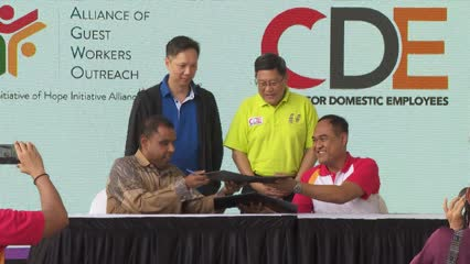 Centre for Domestic Employees steps up mediation capabilities | Video
