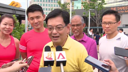 Heng Swee Keat to support PM Lee in longer term policy review as DPM | Video