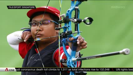 Singapore's athletes resume training under new COVID-19 normal | Video