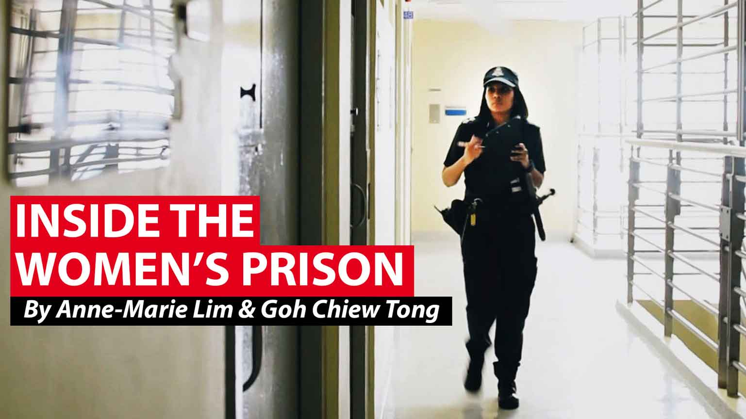 Changing lives, inside the women's prison