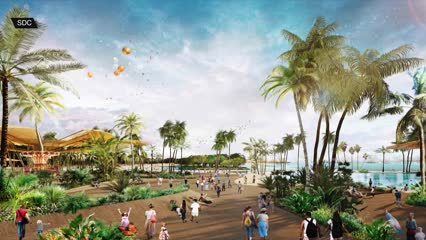 Sentosa's Merlion to go as Sentosa-Brani masterplan reshapes islands | Video
