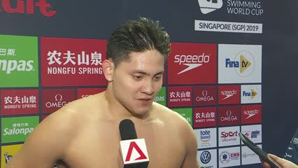 Joseph Schooling finishes fourth in 200m individual medley at FINA Swimming World Cup Singapore | Video