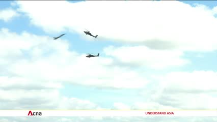 Health precautions taken on first public day of Singapore Airshow | Video