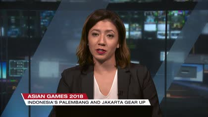 Jakarta and Palembang gear up for Asian Games | Video