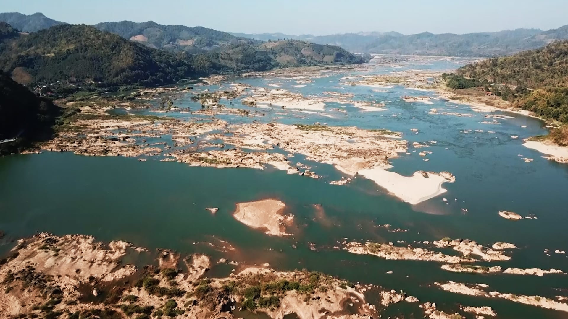 When the Mekong River turned blue | Video