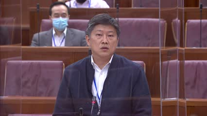 Ng Chee Meng on Fortitude Budget