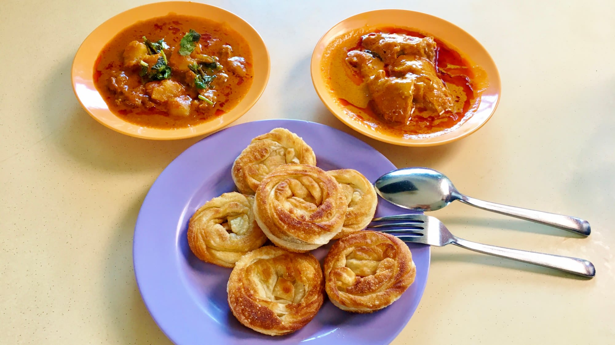 Crispy coin prata like Danish pastry at Sin Ming Road | CNA Lifestyle