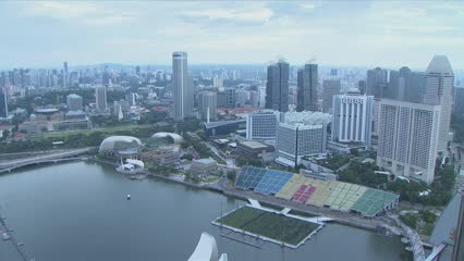 Call for ideas for redevelopment of Marina Bay floating platform | Video