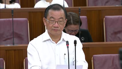 Seah Kian Peng on Maintenance of Religious Harmony (Amendment) Bill