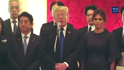 Trump hosts Abe with North Korea, trade on the agenda | Video
