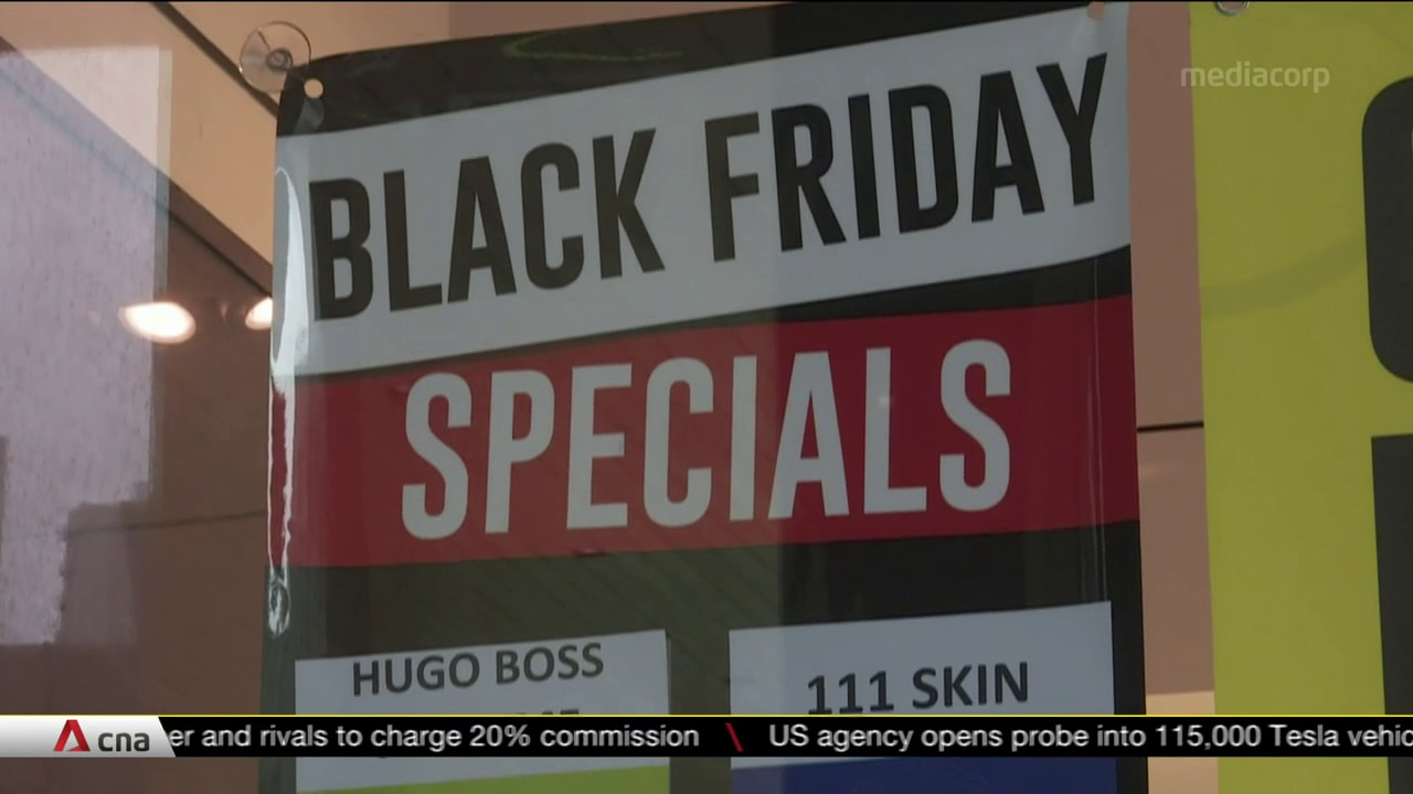 Black Friday sales go online amid COVID-19 | Video
