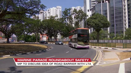 Talks with LTA to make Marine Parade roundabout safer after fatal crash: Lim Biow Chuan | Video