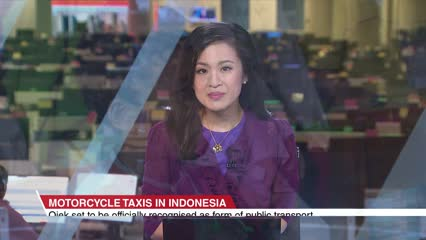 Motorcycle taxis set to be officially recognised in Indonesia | Video