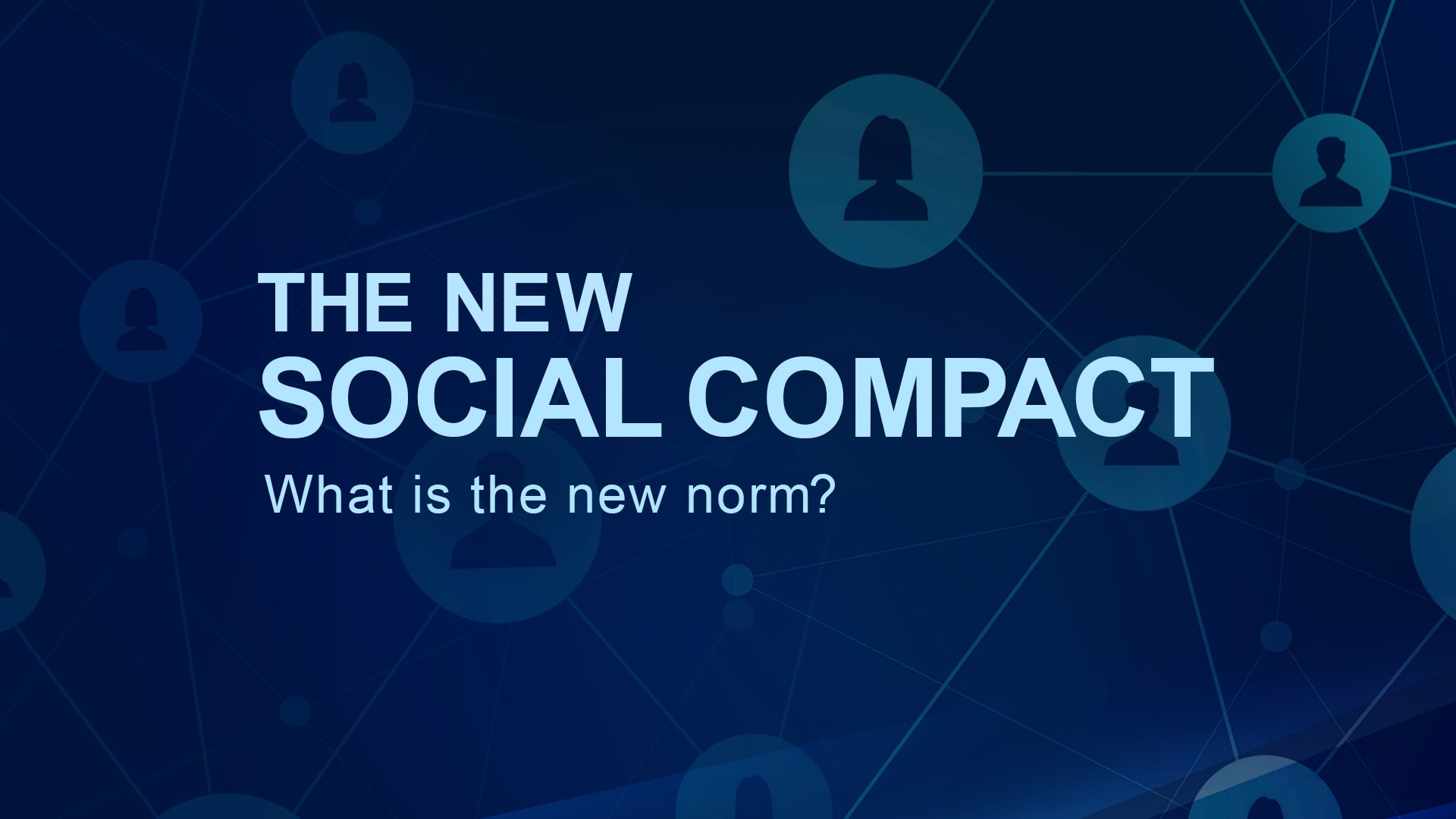 The New Social Compact