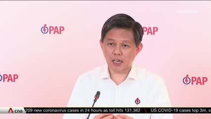 GE2020: Election about Singapore's collective future, says Chan Chun Sing | Video