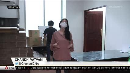 COVID-19 fears, lockdowns drive e-grocery boom in Indonesia | Video