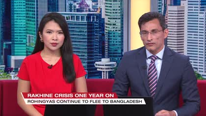 Rohingya still fleeing Myanmar one year after crisis | Video