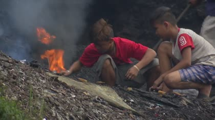 Rain and poor disposal systems contribute to Philippines' waste problem