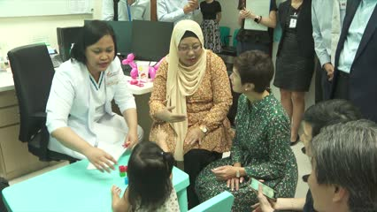 Wellness hub for mothers and children opens in Punggol Polyclinic | Video