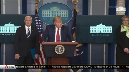 Joe Biden struggles for attention as Trump takes COVID-19 spotlight | Video