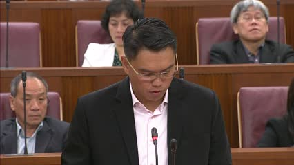 Patrick Tay on Home Team Science and Technology Agency Bill