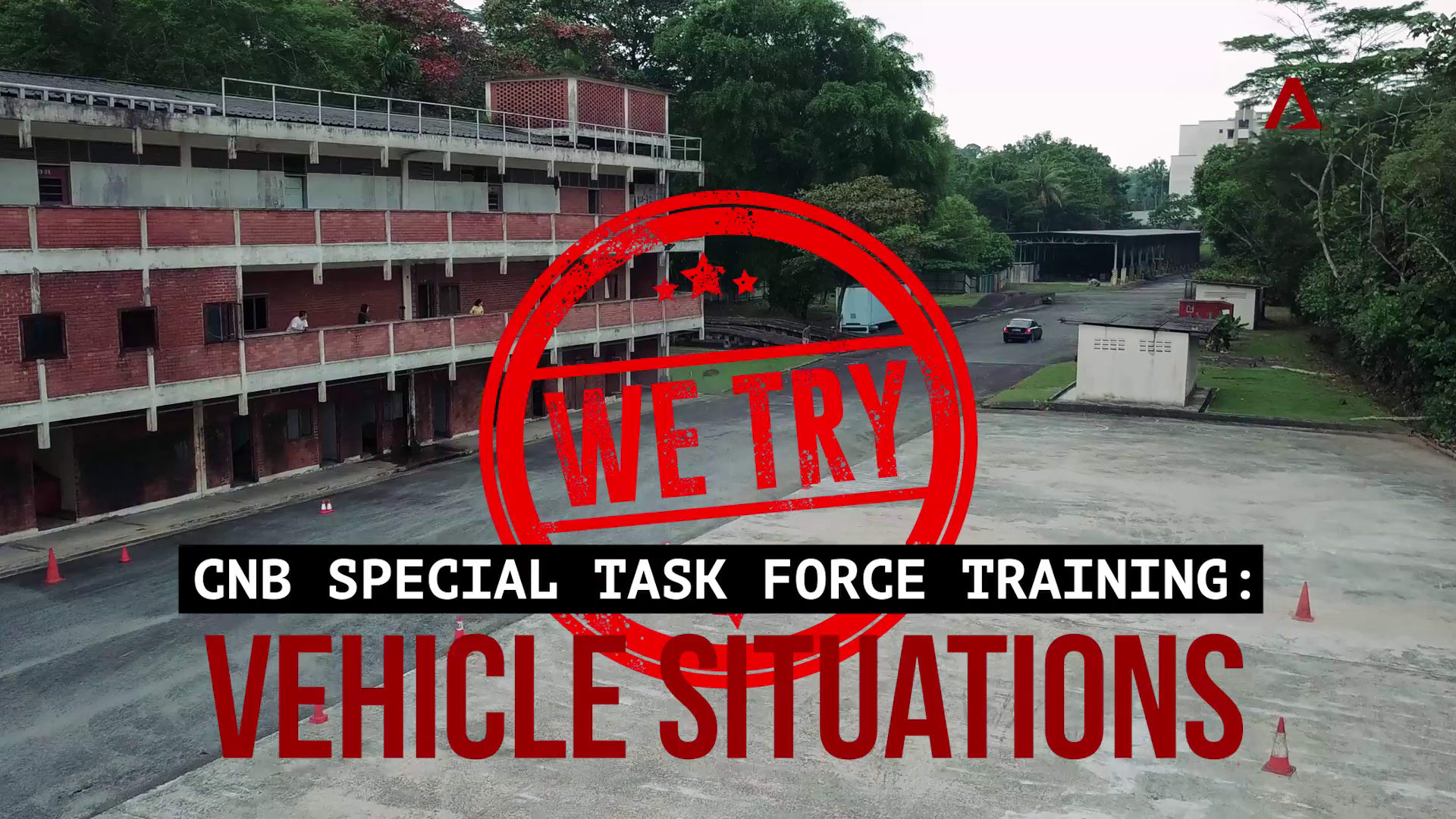 CNB Special Task Force training: Vehicular situations