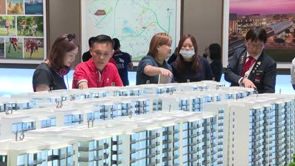 Private home prices unexpectedly rise to 5-year high; HDB Q2 resale prices fall slightly | Video