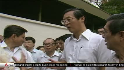 Emeritus Senior Minister Goh Chok Tong will not run in GE2020 | Video