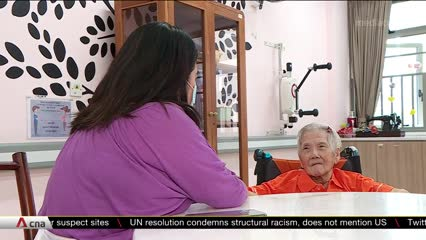 Families reunite in nursing homes as Singapore reopens in Phase 2 | Video