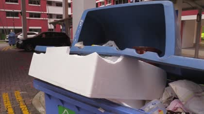 7 in 10 people in Singapore do not know what plastics to recycle: SEC report | Video