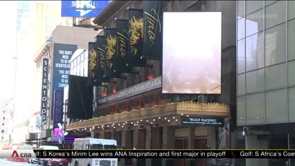 Shuttered Broadway gets creative to fill the void | Video
