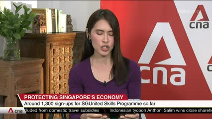1,300 signups for more than 113 courses under SGUnited Skills programme | Video