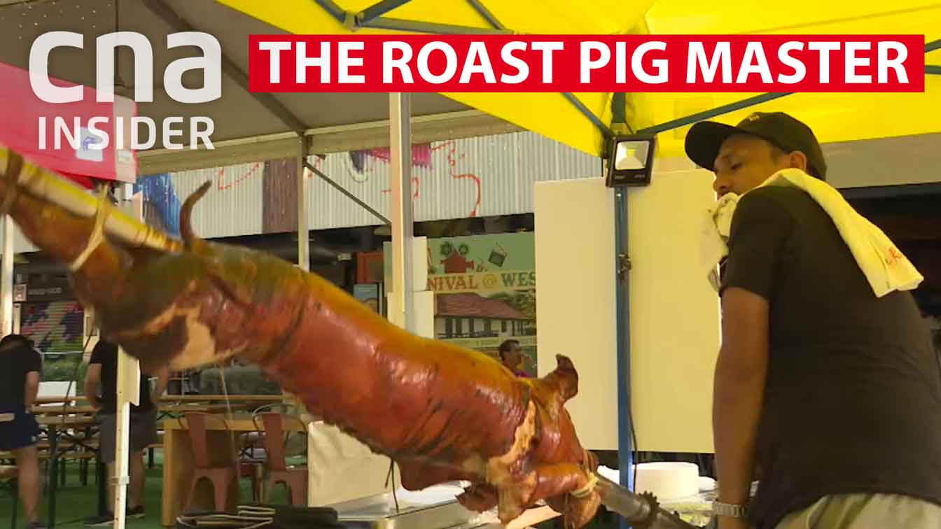 The roast pig master