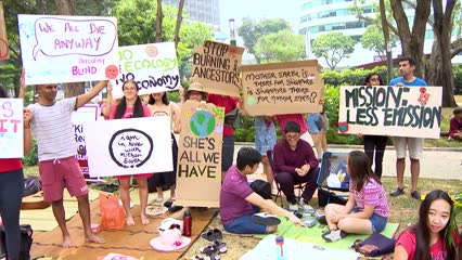 Young Singaporeans speak up on climate change | Video