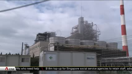 Toshiba pushes ahead with plan to recycle carbon dioxide | Video
