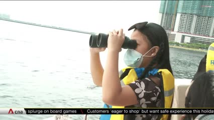 COVID-19: Malaysian families board yacht to see family members in Singapore | Video