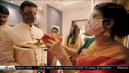 COVID-19's impact on extravagant Indian weddings | Video