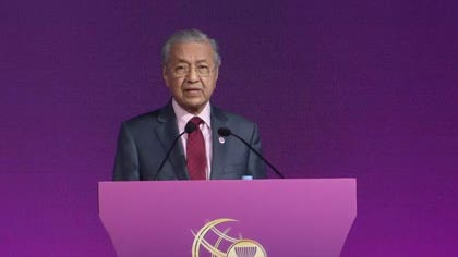 Not time for ASEAN countries to adopt trade protectionist measures: Mahathir | Video