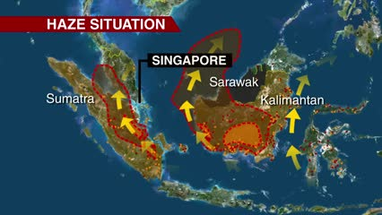 Showers over parts of the region early next week could give Singapore 'brief respite' from haze: NEA | Video