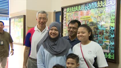 Singaporeans must understand the world, feel a sense of nationhood and community: PM Lee | Video