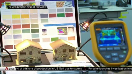 HDB pilots paints that can cool housing estates by up to 2 degrees Celsius | Video
