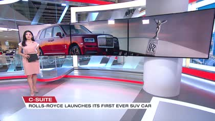 Rolls-Royce launches first SUV; has high hopes for Asian sales