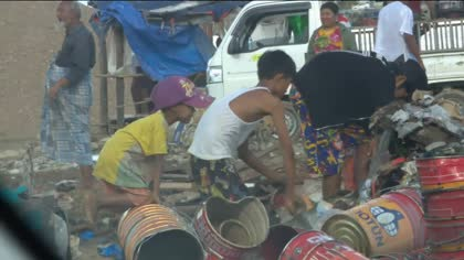 Myanmar Child Workers