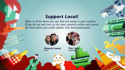 Task 1 Support Local!: 2hearts1seoul and The +65s