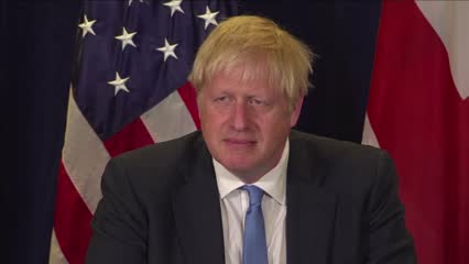 UK looks to US for trade as Brexit deadline looms   Video