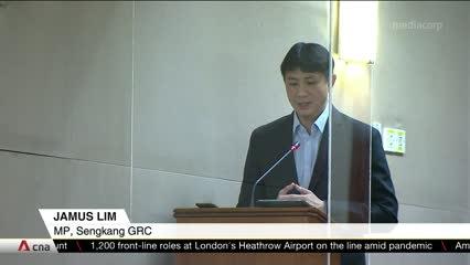 Tharman, PAP MPs debate minimum wage, policymaking with WP's Jamus Lim