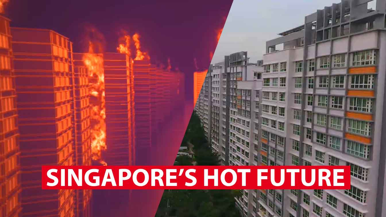 Why Singapore is heating up faster than the rest of the planet