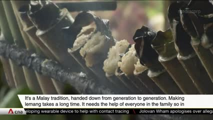 Lemang vendors in Malaysia see sales surge despite partial COVID-19 lockdown | Video